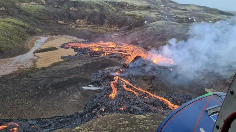 fagradalsfjall volcanic eruption Cronos Asia