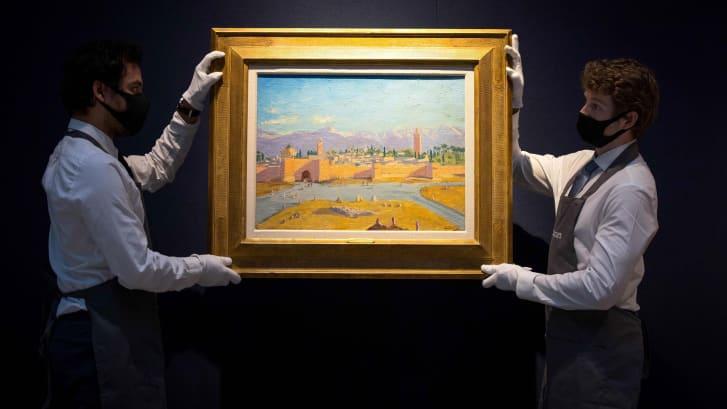http cdn.cnn .com cnnnext dam assets 210301151214 01 churchill painting auction 0217 Cronos Asia