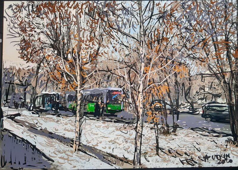Zima v Almaty Utkin Cronos Asia