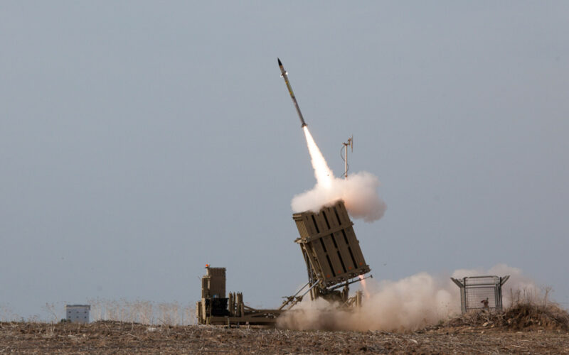 Flickr Israel Defense Forces Iron Dome Intercepts Rockets from the Gaza Strip Cronos Asia