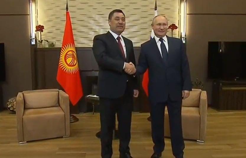 Putin i ZHaparov Cronos Asia