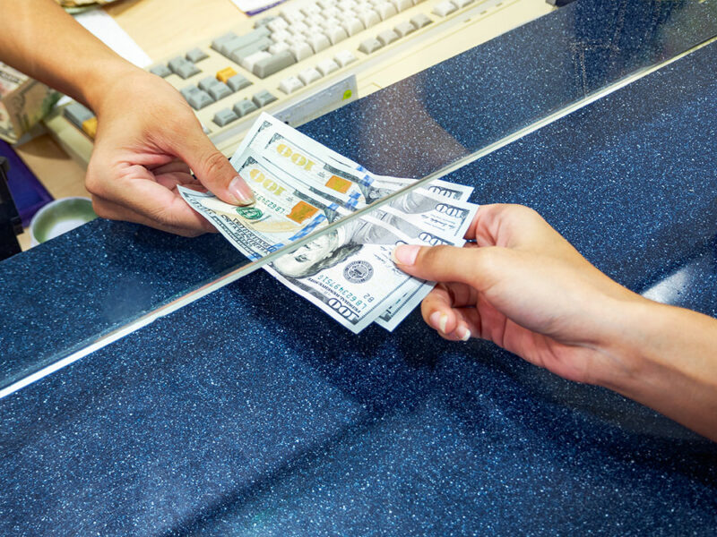 do not exchange money at the airport Cronos Asia